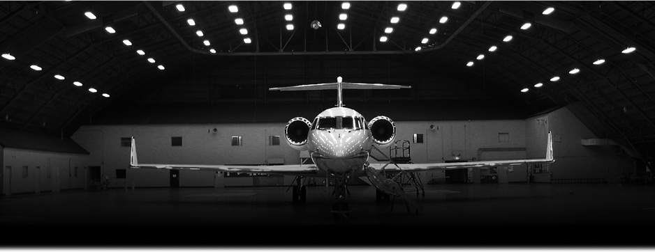 Private Jet charter banner BW