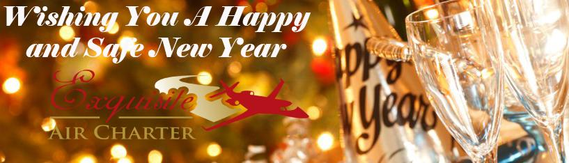Happy New Year - Exquisite Air Charter