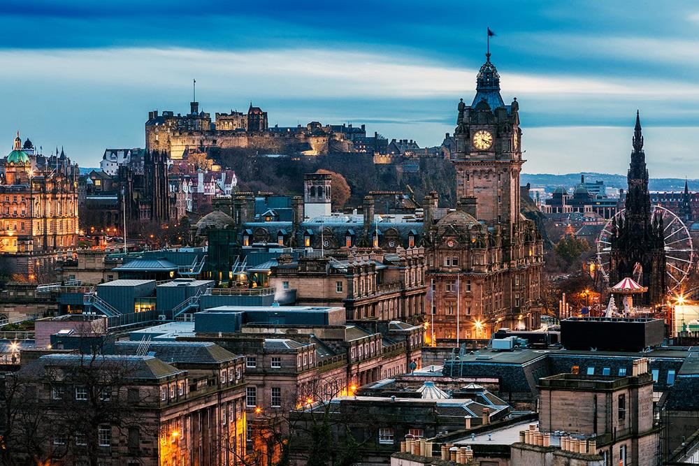 The Gorgeous City of Edinburgh