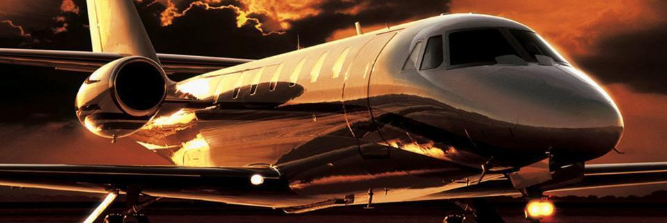 Private Jet Header
