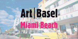 Art Basel Miami Private Jet Charter