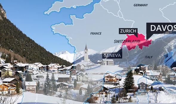 Davos Switzerland by Private Jet