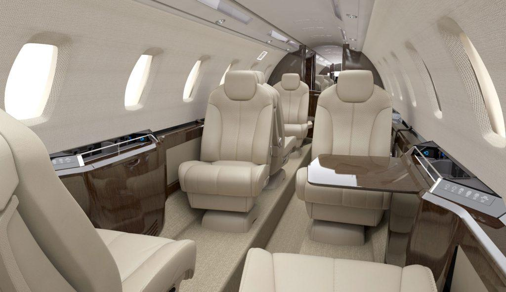 Cessna Citation CJ3 Interior