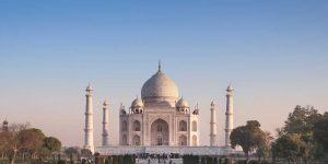 taj mahal by private jet