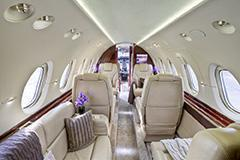hawker 900xp interior